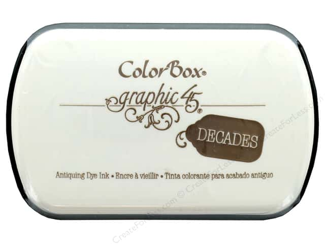 ColorBox Graphic 45 Decades Inkpad Dark Cashmere