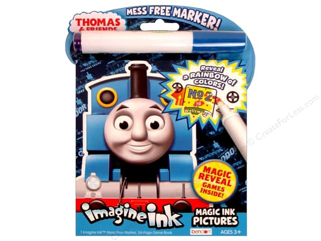 Bendon Magic Ink Pictures Book Thomas