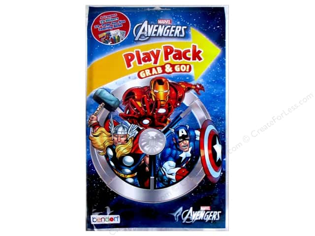 Bendon Coloring Play Pack Avengers Book