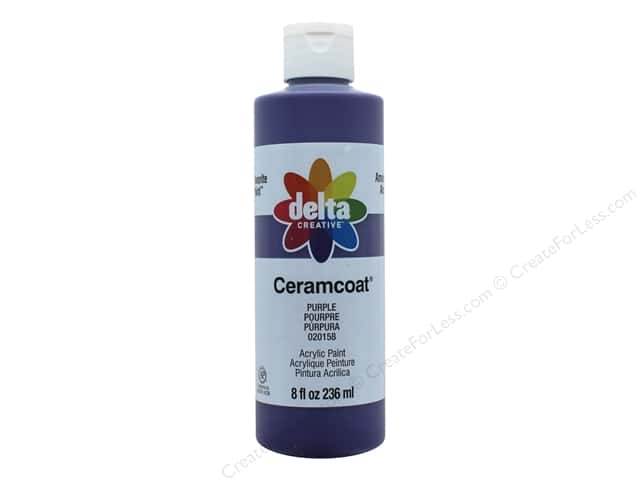 Delta Ceramcoat Acrylic Paint 8 oz. #20158 Purple