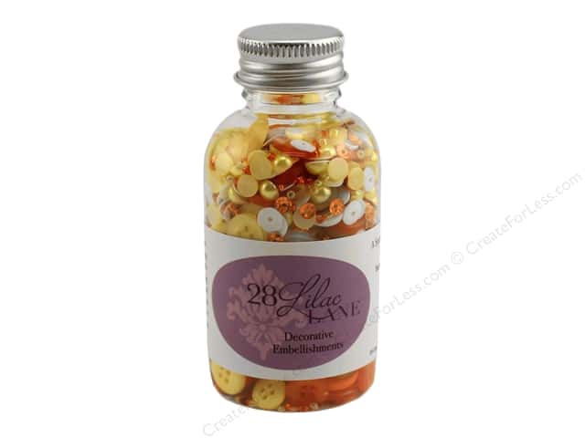 Buttons Galore 28 Lilac Lane Embellishment Bottle Candy Corn