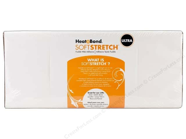 "Heat n Bond Ultra Hold Iron-on Adhesive Soft Stretch 17""x 20yd (20 yards)"
