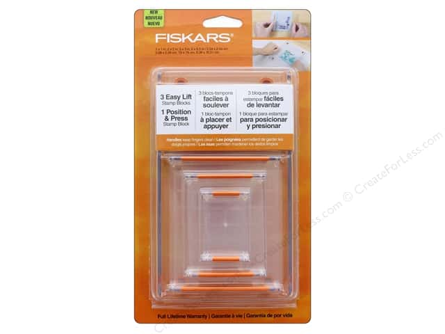 Fiskars Tool Stamp Block Set 4pc