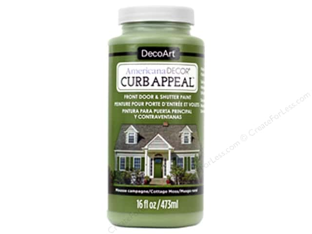 DecoArt Americana Decor Curb Appeal Paint 16 oz. Cottage Moss