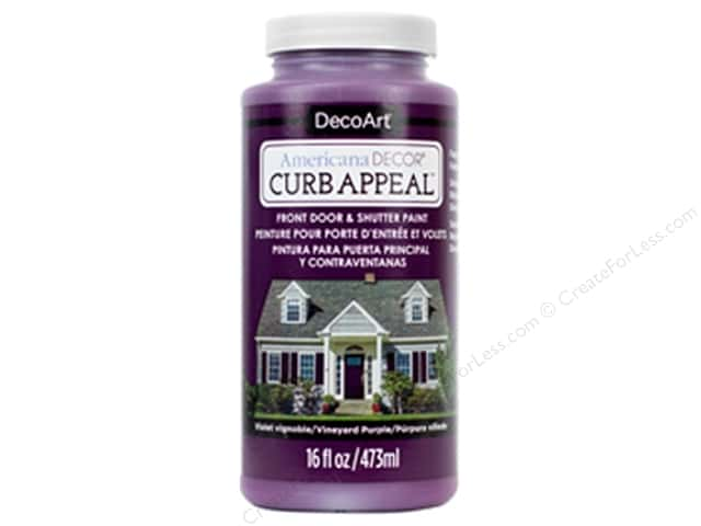 DecoArt Americana Decor Curb Appeal Paint 16 oz. Vineyard Purple