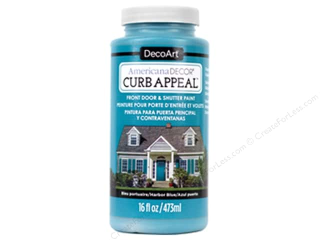 DecoArt Americana Decor Curb Appeal Paint 16 oz. Harbor Blue