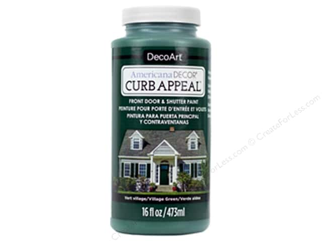 DecoArt Americana Decor Curb Appeal Paint 16 oz. Village Green