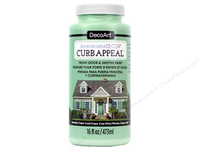 DecoArt Americana Decor Curb Appeal Paint 16 oz. Cape Cod Mint