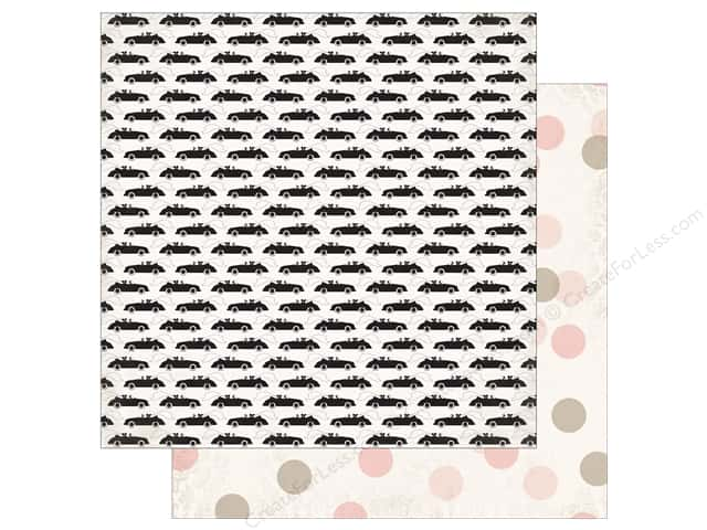 "Echo Park Collection Wedding Bliss Paper 12""x 12"" Just Married (25 pieces)"