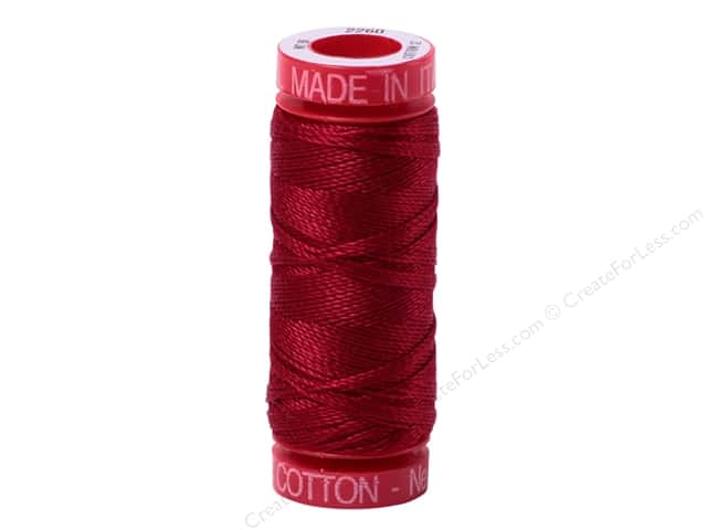 Aurifil Mako Cotton Quilting Thread 12 wt. #5003 Wine 54 yd.