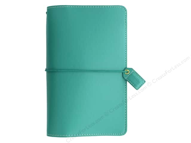 Webster's Pages Color Crush Planner Traveler Jade Book Wrap
