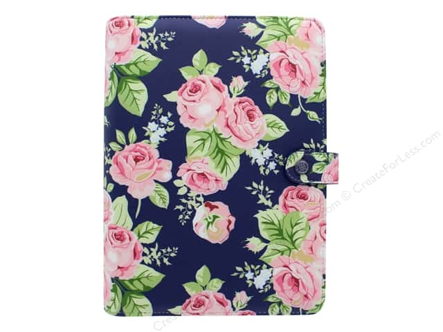 Webster's Pages Color Crush Planner A5 Floral Navy Book Wrap
