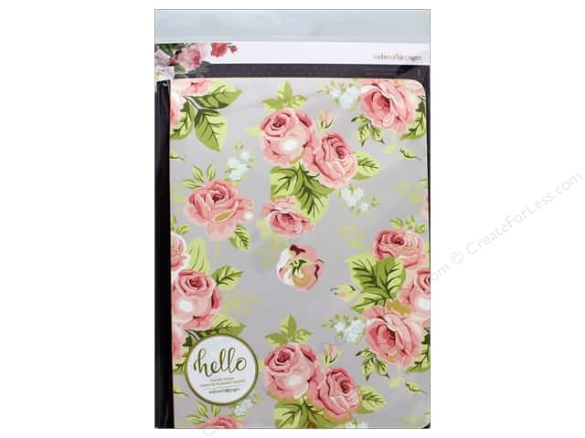 Webster's Pages Color Crush Insert Composition Note Gray FloralComp