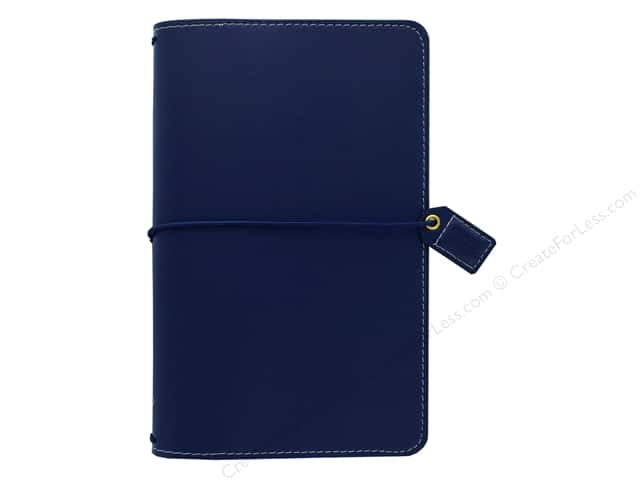 Webster's Pages Color Crush Planner Traveler Navy Book Wrap
