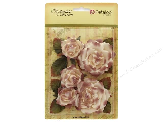 Petaloo Botanica Collection Garden Roses Cream