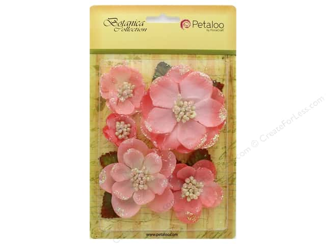 Petaloo Botanica Collection Magnolia Mix Coral