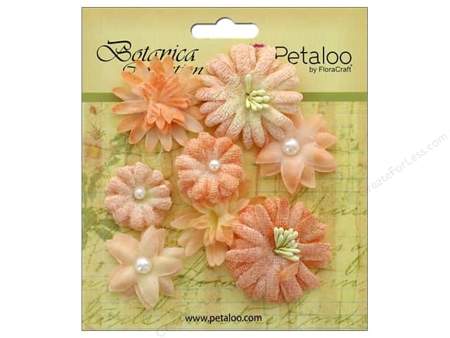 Petaloo Botanica Collection Mixed Blooms Minis Peach
