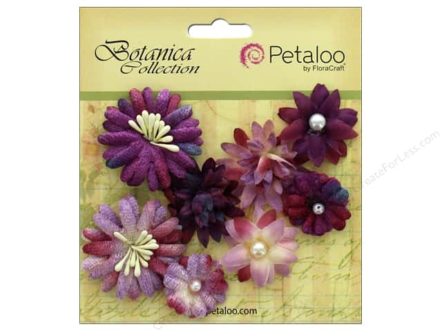 Petaloo Botanica Collection Mixed Blooms Minis Lavender/Purple
