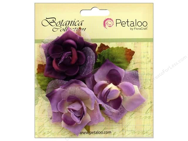 Petaloo Botanica Collection Fairy Rose Bud Lavender/Purple