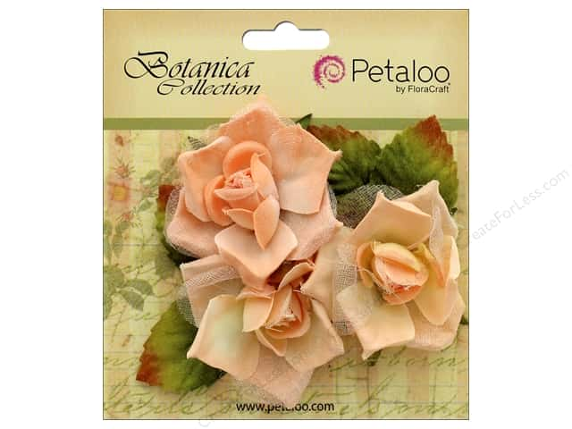 Petaloo Botanica Collection Fairy Rose Bud Peach