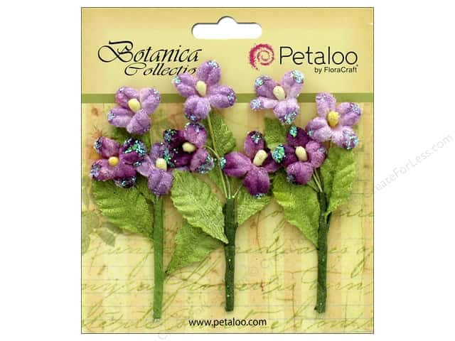 Petaloo Botanica Collection Fairy Blossom Branch Lavender/Purple