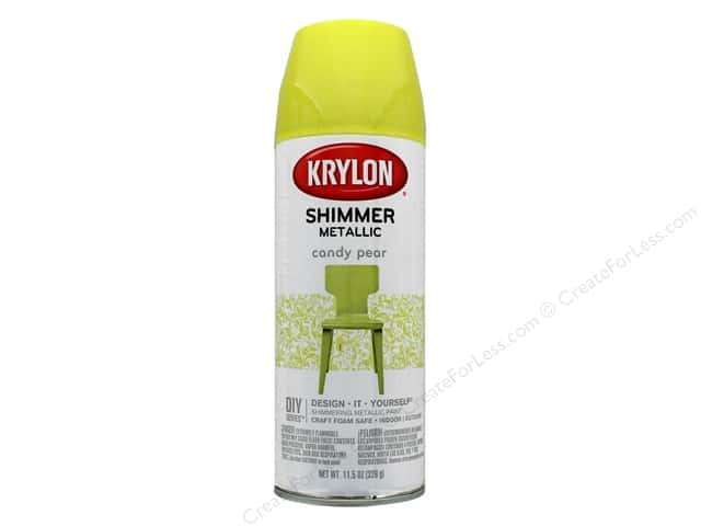 Krylon Shimmer Metallic Spray Paint 11.5 oz. Candy Pear