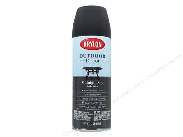 Krylon Outdoor Decor Paint 12 oz. Midnight Sky