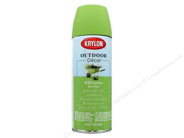 Krylon Outdoor Decor Paint 12 oz. Wild Grass