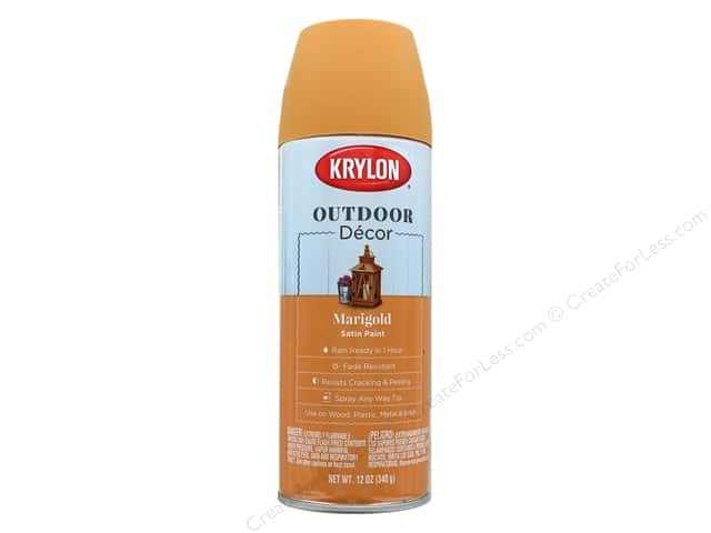 Krylon Outdoor Decor Paint 12 oz. Marigold