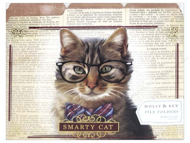 Molly & Rex File Folders 10 pc. Smarty Cat