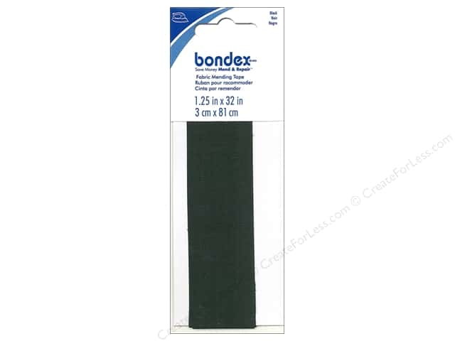 Bondex Iron On Tape 1 1/4 x 32 in. Black
