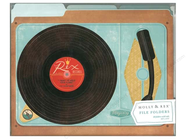 Molly & Rex File Folder Record Player 10pc