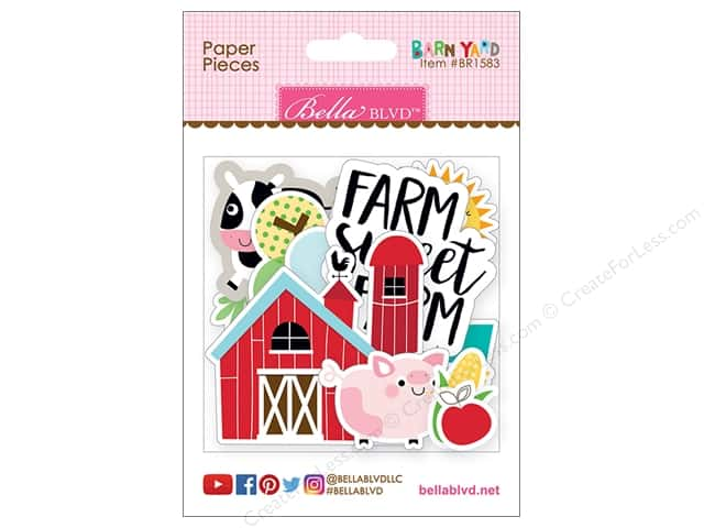 Bella Blvd Collection Barnyard Paper Pieces
