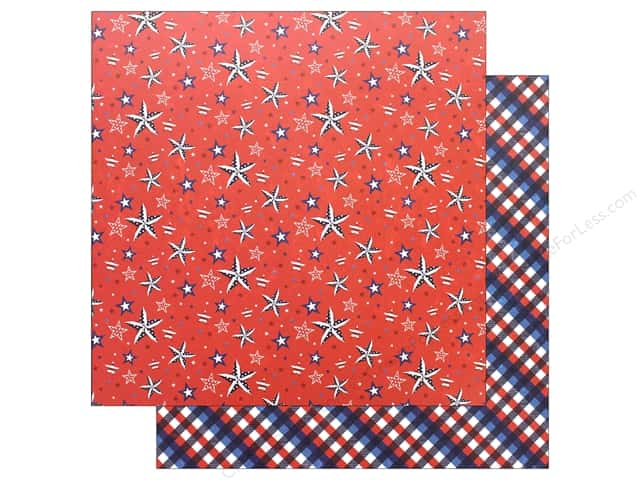 "Photo Play Collection Live Free Paper 12""x 12"" Patriotic (25 pieces)"