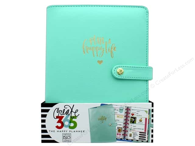 Me&My Big Ideas Create 365 Happy Planner Deluxe Cover Mini Mint