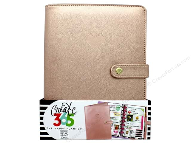 Me & My Big Ideas Create 365 Happy Planner Deluxe Cover - Mini Rose Gold