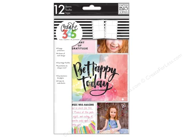 Me&My Big Ideas Create 365 Happy Planner Pocket Sheets Mini