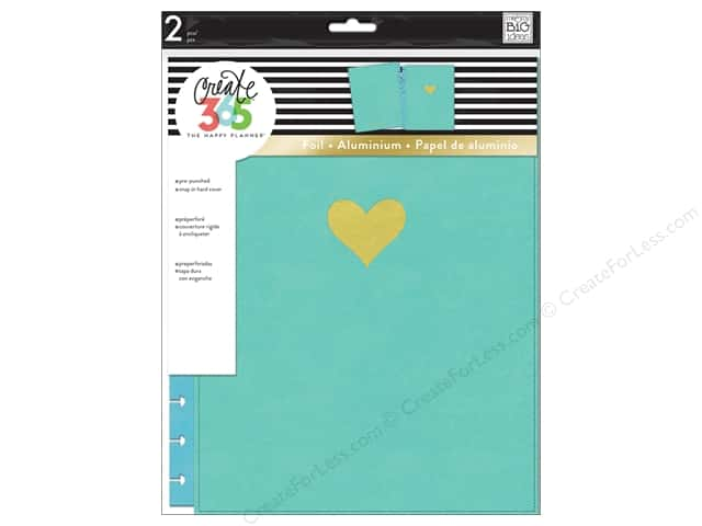 Me&My Big Ideas Create 365 Happy Planner Snap Cover Big Turquoise