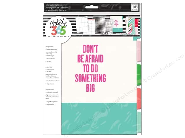 Me&My Big Ideas Collection Create 365 Happy Planner Planner Monthly Something Big