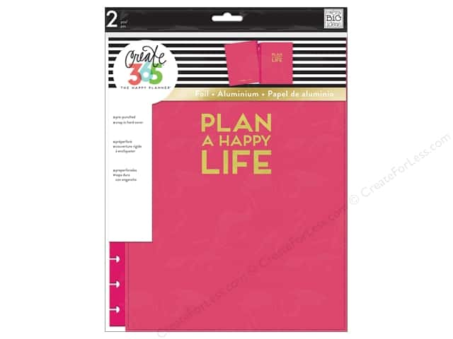 Me&My Big Ideas Create 365 Happy Planner Snap Cover Big Pink