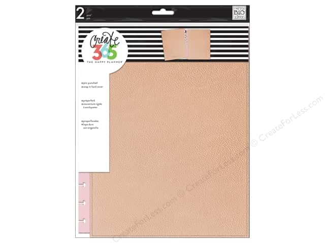 Me & My Big Ideas Create 365 Happy Planner Snap-In Cover - Big Rose Gold