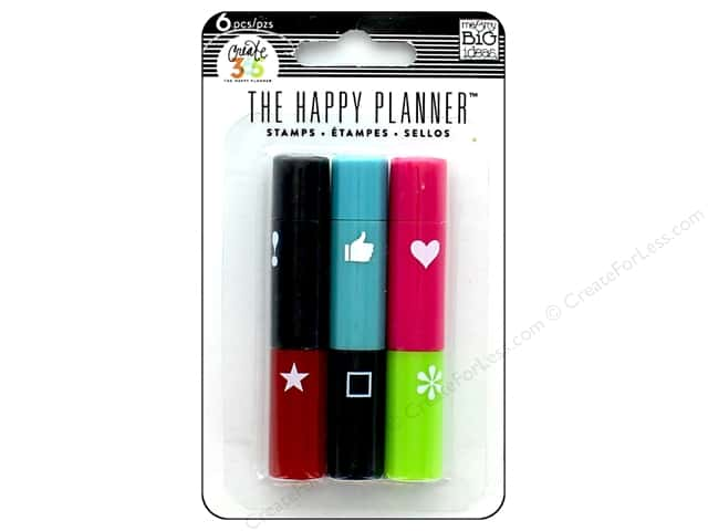Me&My Big Ideas Collection Create 365 Happy Planner Stamps Stackable Icons