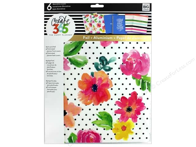 Me&My Big Ideas Create 365 Happy Planner Cover Big April Flower
