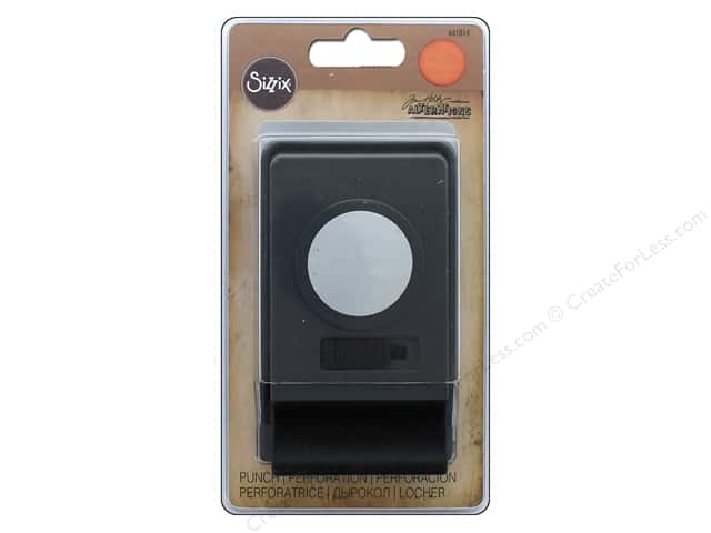 "Sizzix Paper Punch Tim Holtz Large 1.25"" Circle"