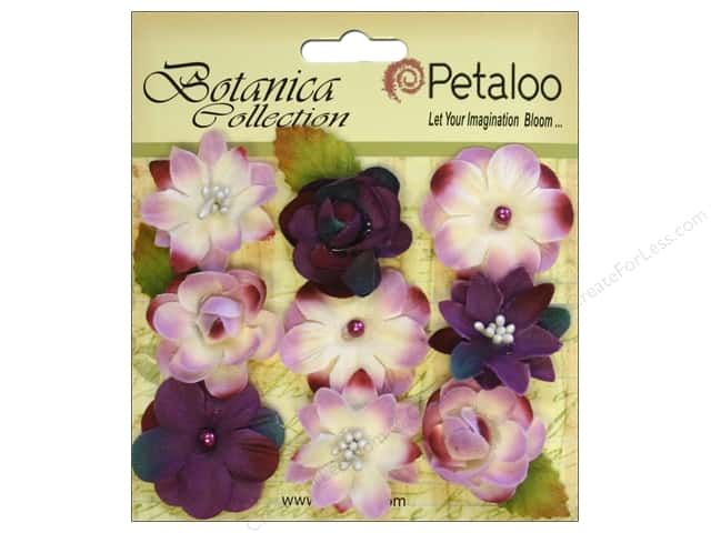 Petaloo Botanica Collection Baby Blooms Purple 9pc