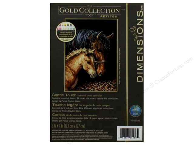 """Dimensions Cross Stitch Kit 5""""x 7"""" Gentle Touch"""
