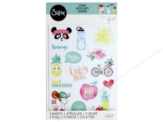 Sizzix Sticker Katelyn Lizardi Icon 2