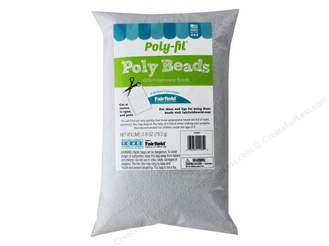Fairfield Filler Bead Poly Fil Bag 2.8oz