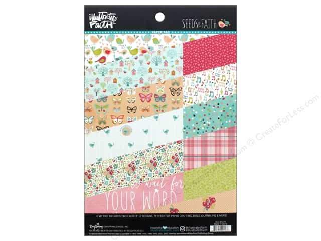 Bella Blvd Collection Seeds Of Faith Paper Pad