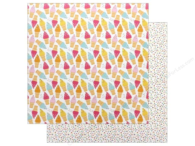 "Bella Blvd Collection Delight In His Day Paper 12""x 12"" Sprinkled With Bliss (25 pieces)"
